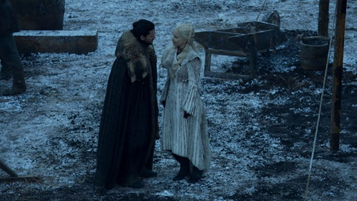 Dany tells Jon that Sansa doesn't like her. Made some thing that seemed like a vailed threat.