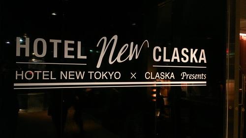 HOTEL NEW CLASKA ホテルニュートーキョーのライブ