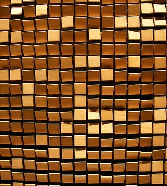 W Seoul – Walkerhill / Wooden Mirror – Daniel Rozin Wホテル ソウル・ウォーカーヒルのインタラクティブアート作品