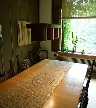 The Aalto House – dining room アアルト自邸 ダイニングルームとアイノ・アアルトデザインのタンブラー