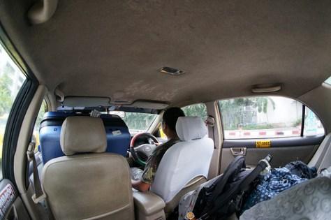Bangkok - taxi バンコクのタクシー