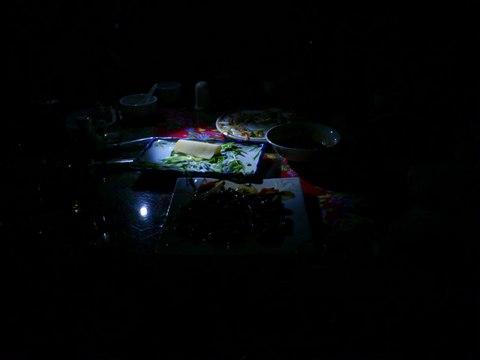 blackout 停電