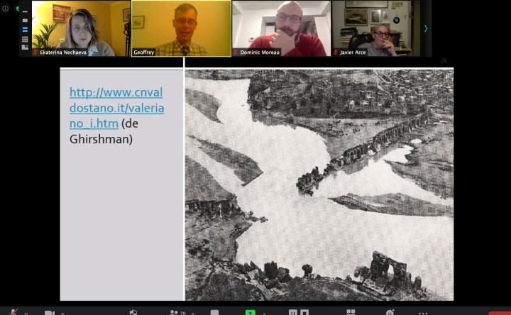 Capture d'écran de la présentation de Geoffrey Greatrex