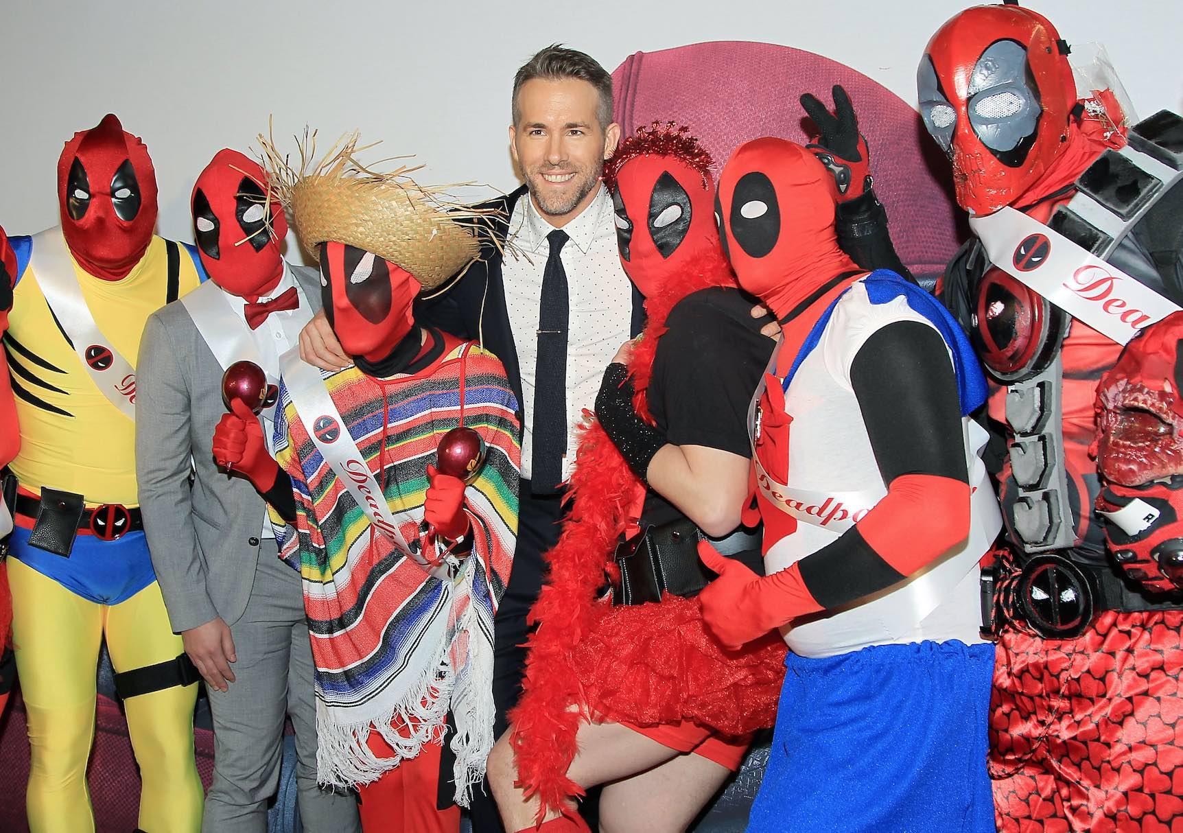 Ryan Reynolds fans premiere