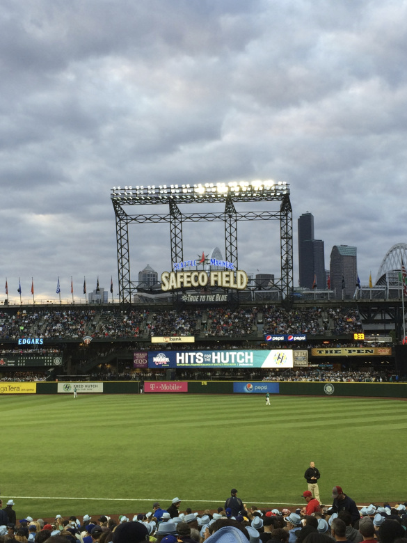 Safeco Field at Twilight
