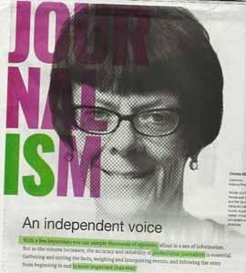 JournalismIS-ad-featuring-Christie-Blatchford
