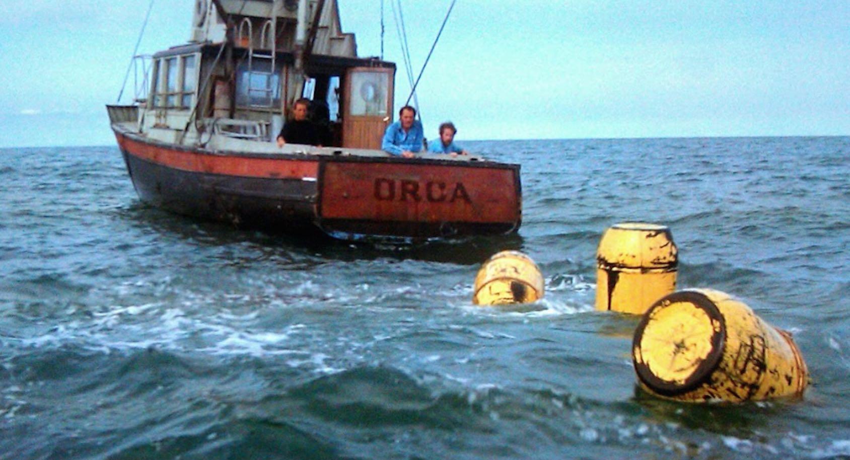 Jaws Yellow Barrels