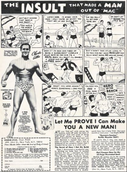 Charles Atlas Insult