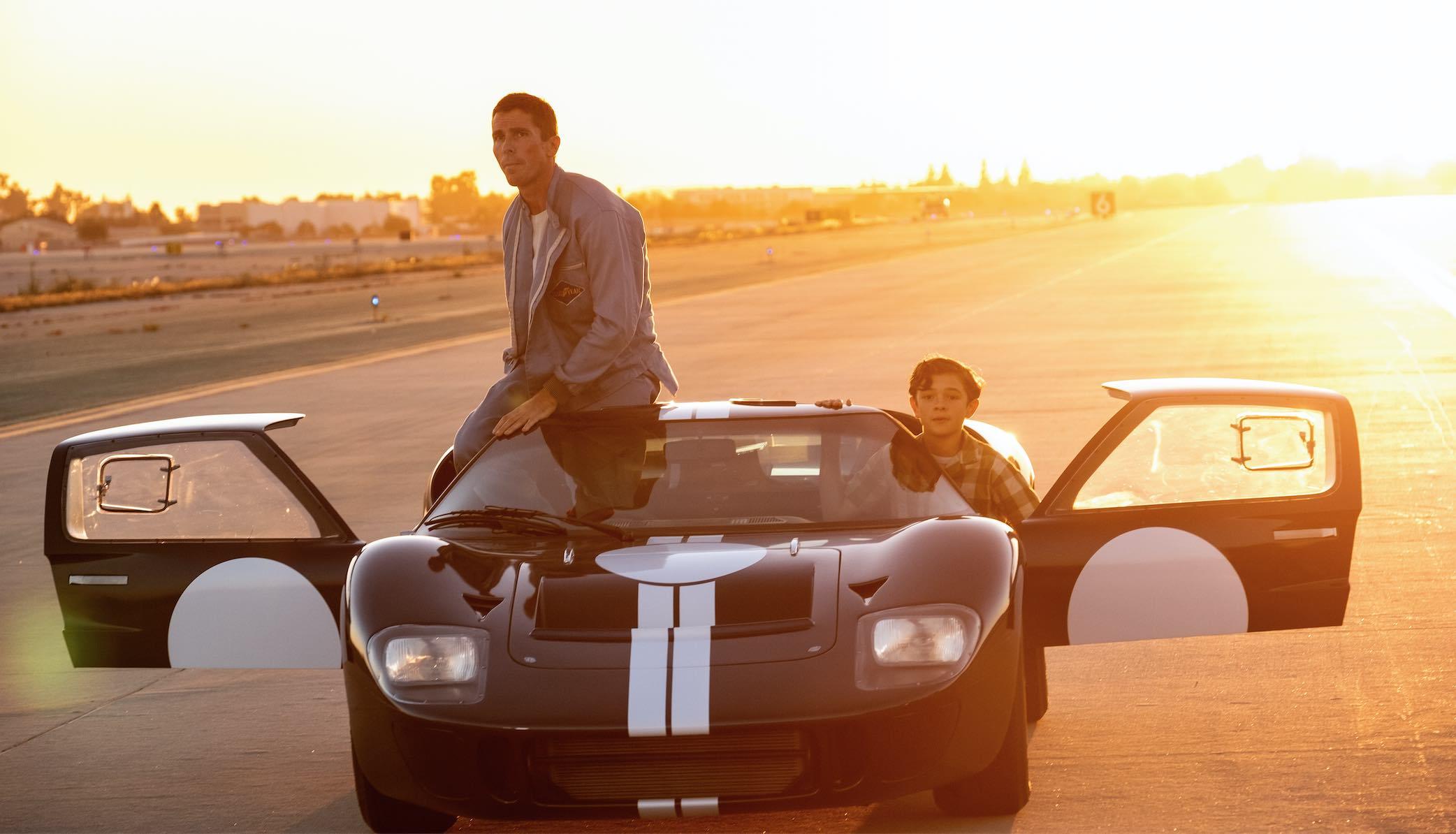 Ford v Ferrari Christian Bale