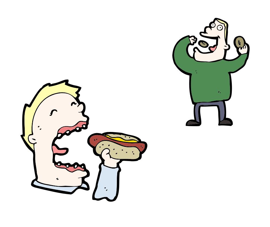 vermisst er mich - viel essen