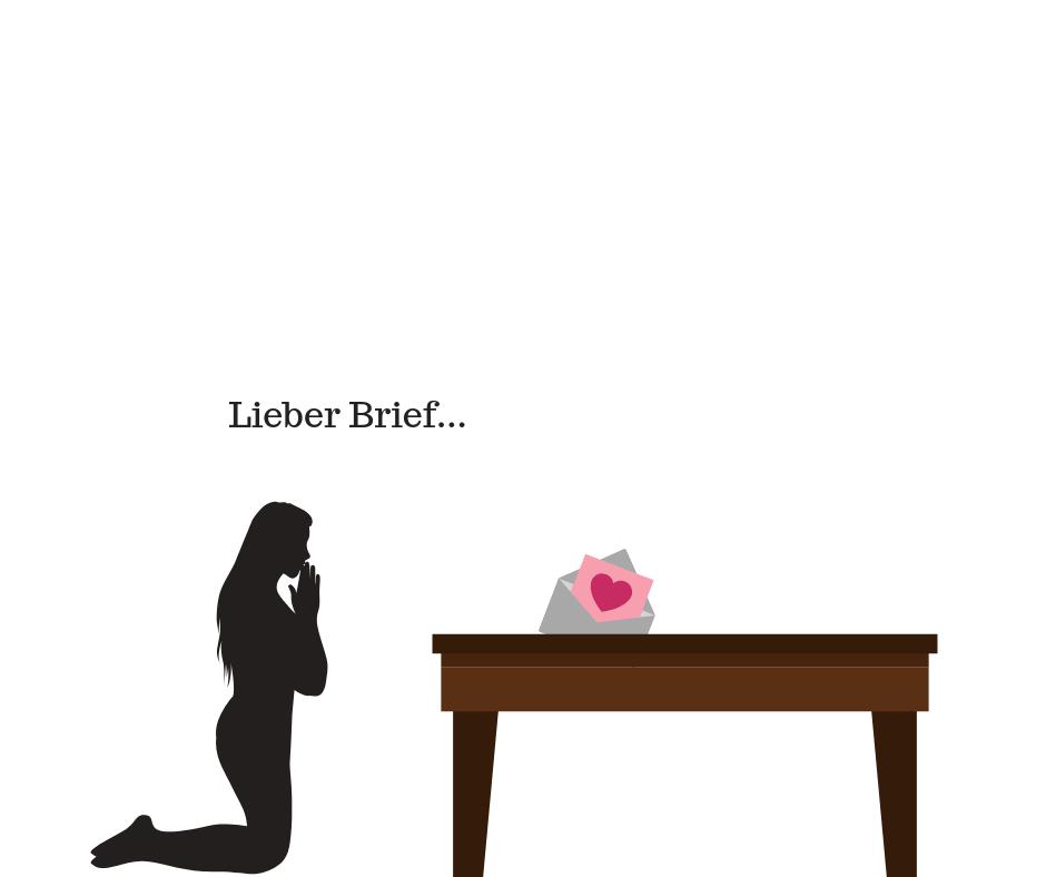 brief wie in zeremonie abgeben
