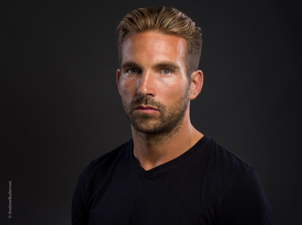 Actor headshot Devon