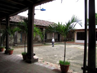 Interior de la Casa de los Barrientos