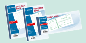 Exacompta Duplicate, Triplicate, Receipt, Order, Delivery Note Books