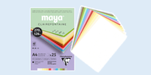 Clairefontaine Maya fine art coloured paper and card