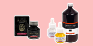Herbin calligraphy ink for writing and illustrations from ExaClair Limited