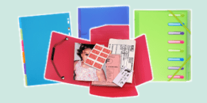 Exacompta Chromaline Transluscent Filing and Stationery Collection, available from ExaClair Limited