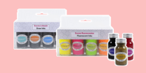 Herbin creative inks set including draw inks and fluorescent inks