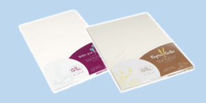 G.Lalo paper sheets for writing featuring cotton and gold flakes