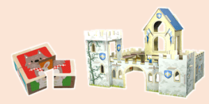 Avenue Mandarine Puxxles and Jigsaws such as cubes, castles and houses