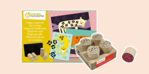 Avenue Mandarine Stamps for inks, paints and other art craft activities