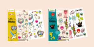 Avenue Mandarine Temporay Tattoo products for adults and children