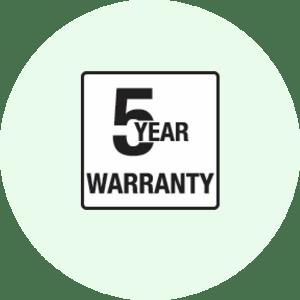 Exacompta 5 Year Warranty