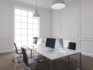 Exacompta ExaScreen Partition Screens to protect from covid in an office environment