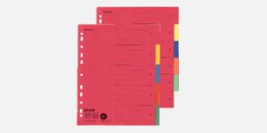 FALKEN Blue Angel certified dividers/indices for folders