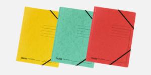 FALKEN elasticated folders made from pressboard