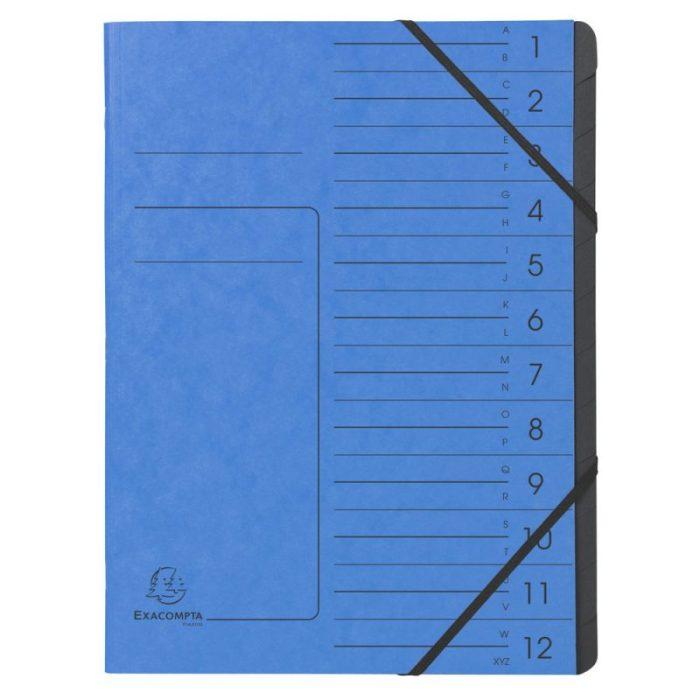 57122E Exacompta Clean'Safe Multipart FIle Organiser