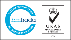 ISO 14001 Certification by bmtrada with UKAS Management Systems