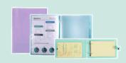 Exacompta Chromaline Pastel Filing Stationery