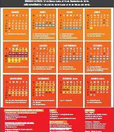 Calendario Académico 2014 – 2015