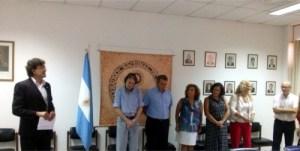 Asunción de Silvana Cordero al frente de la SAF