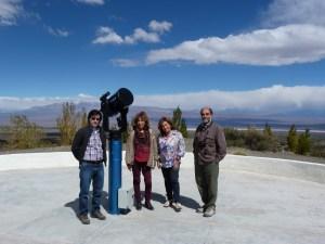 Autoridades de la FCEFN en la Estación Astronómica