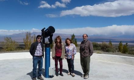 Autoridades de la FCEFN visitaron la Estación Astronómica Dr. Carlos U. Cesco
