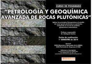 y Geoquímica Avanzada de Rocas Plutónicas