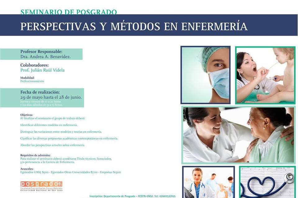 Seminario: Perspectivas y Métodos en Enfermería
