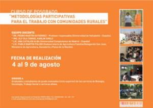 Metodologías participativas en comunidades rurales