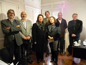 Firma de convenio para la instrucción en Primeros Auxilios a instituciones de Rivadavia