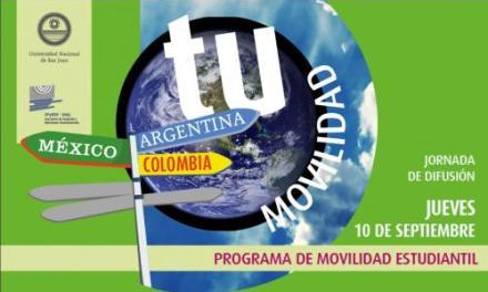 La UNSJ inicia la convocatoria de Movilidad Estudiantil 2016
