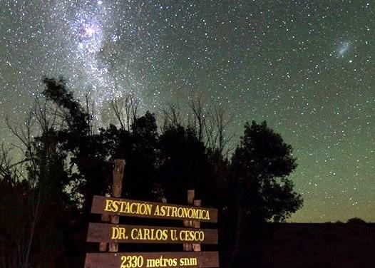 Cónsul de Brasil visitó la Estación Astronómica de Altura