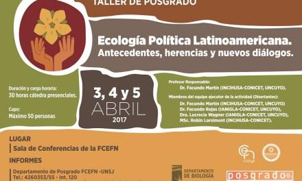 Ecología Política Latinoamericana. Antecedentes, herencias y nuevos diálogos