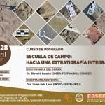 Escuela de campo: hacia una Estratigrafía Integrativa