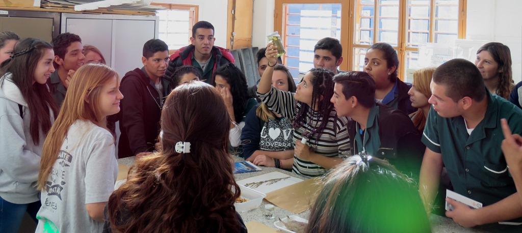 Visitas de Escuelas Secundarias a la Facultad de Exactas
