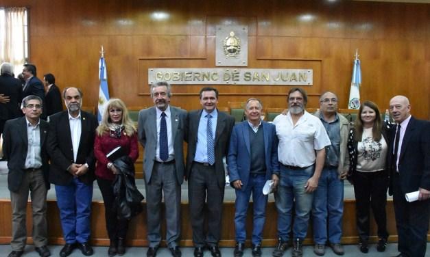 Elaborarán en la FCEFN un mapa minero de San Juan