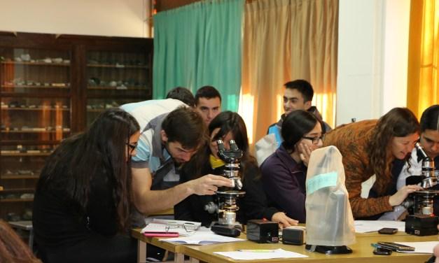 Alumnos de la Industrial realizaron prácticas en la Facultad de Exactas