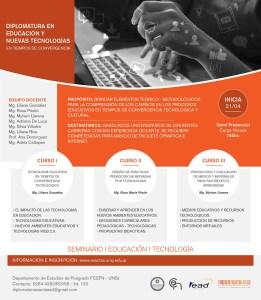 Afiche curso Diseño de Prácticas Pedagógicas Mediadas por Tecnologías