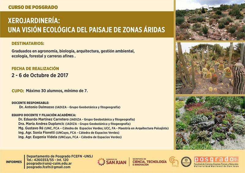 Xerojardinería: una visión ecológica del paisaje de zonas áridas
